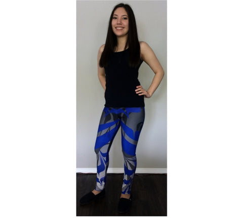 Eagle BlueBlack Leggings