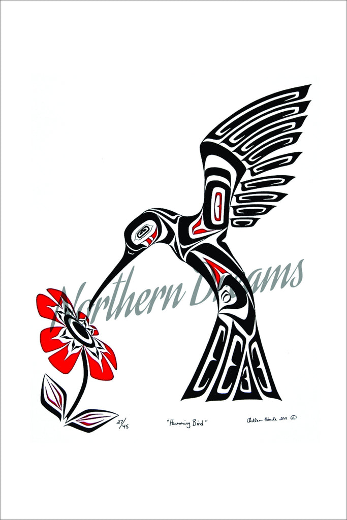 Humming Bird - Northern Dreams Clothing by Chelleen