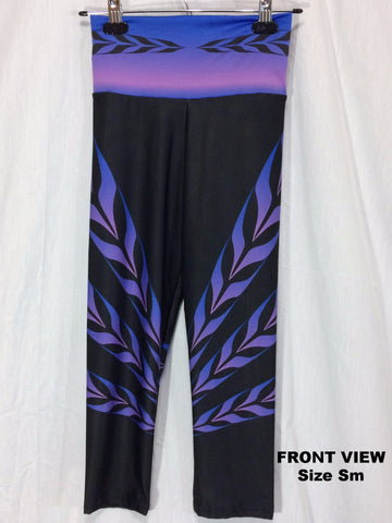 Form Line Yoga Capris Twilight