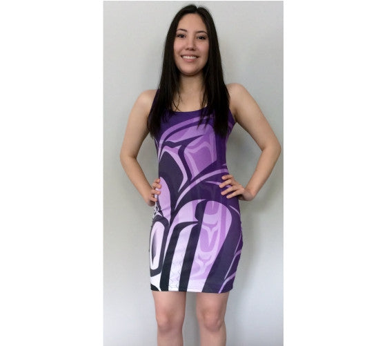 Killer Fitted Purple Dress
