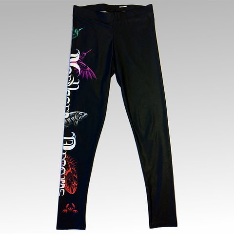 Northern Dreams Leggings - Northern Dreams Clothing by Chelleen