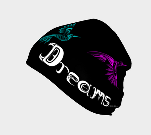 Northern Dreams Beanie Black - Northern Dreams Clothing by Chelleen