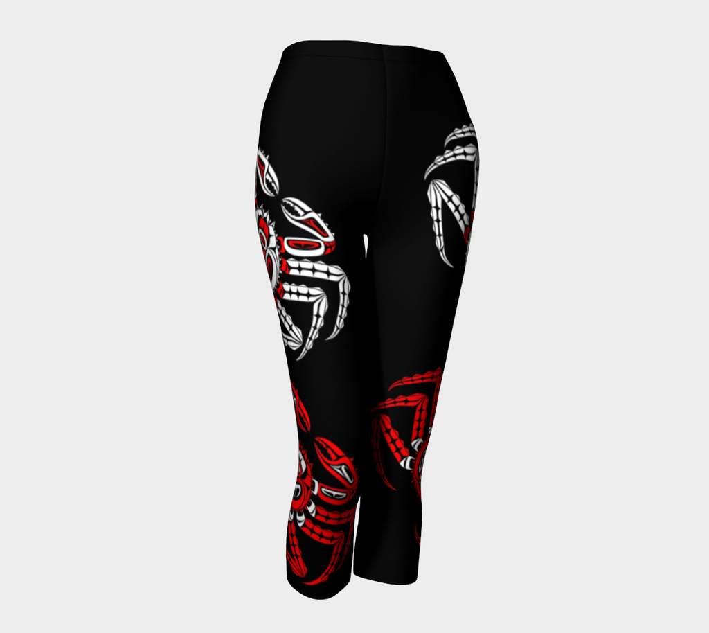 Crabby Capris (Black) - Northern Dreams Clothing by Chelleen