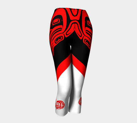 Frog Capris Red