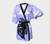 Orca Kimono Robe Blue - Northern Dreams Clothing by Chelleen