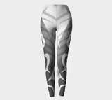 Killer White Leggings - Northern Dreams Clothing by Chelleen