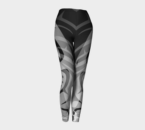 Killer Black Leggings - Northern Dreams Clothing by Chelleen