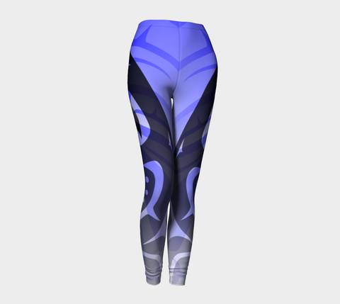 Killer Blue Leggings - Northern Dreams Clothing by Chelleen