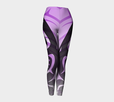 Killer Purple Leggings - Northern Dreams Clothing by Chelleen