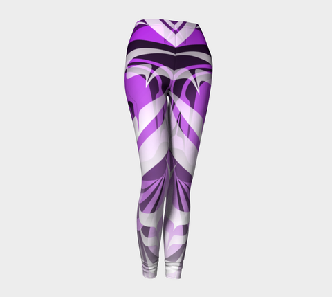 Eagle Purple Leggings - Northern Dreams Clothing by Chelleen