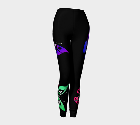 Butterfly Leggings - Northern Dreams Clothing Artwork by Chelleen