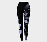 Raven Leggings Ice Blue - Northern Dreams Clothing by Chelleen