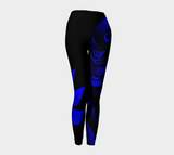 Raven Leggings Blue - Northern Dreams Clothing by Chelleen