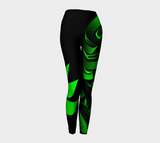 Raven Leggings Green - Northern Dreams Clothing by Chelleen