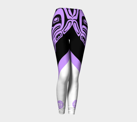 Frog Leggings Light Purple