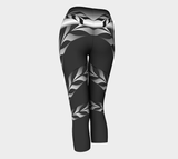 Form Line Yoga Capris Asphalt - Northern Dreams Clothing by Chelleen