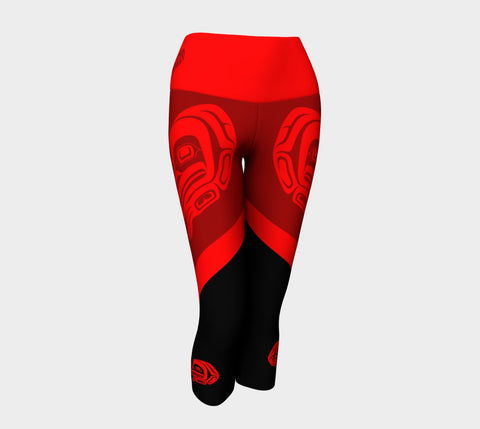 Frog Yoga Capri Red