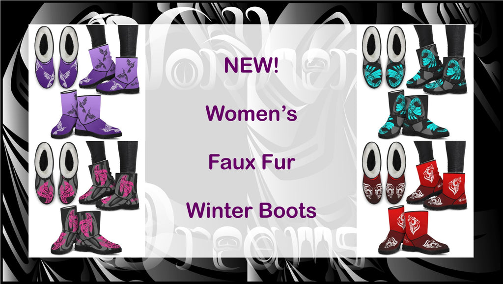 Women's Faux Fur Winter Boots