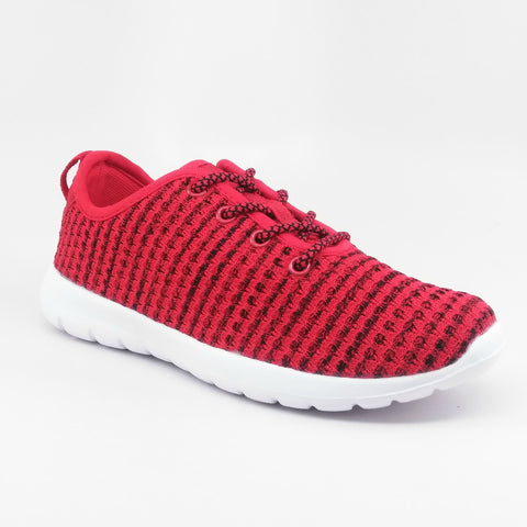 Yilan Boy Mesh Sneaker (Red)