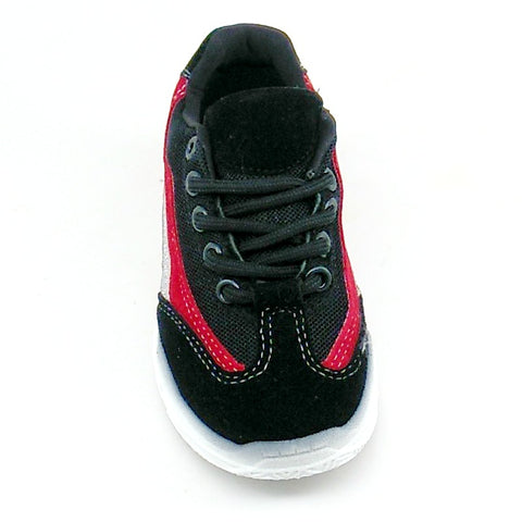 Unisex Children Black Sneaker