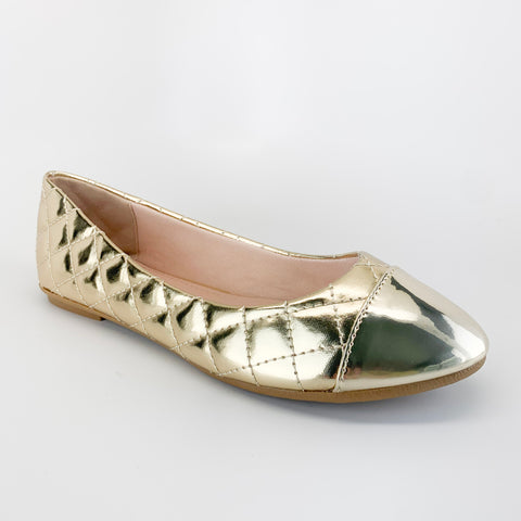 """Shine On"" Metallic Flats"