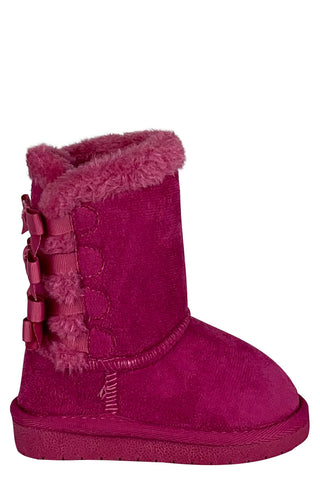 Winnie Toddler Winter Boots (Black,Pink,Tan)