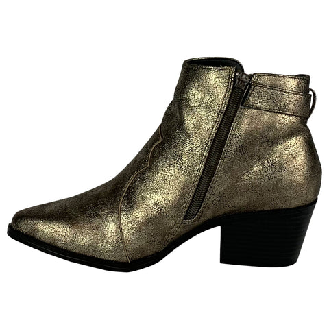 Rocker Vibes Boots (Light Gold)