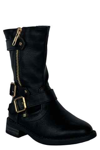 Olwen Toddler Riding Boots (Black)