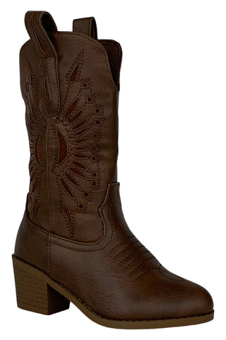 girl tan western boots western-11k forever link