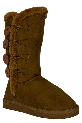 children winter boots in tan anissa-3k forever link