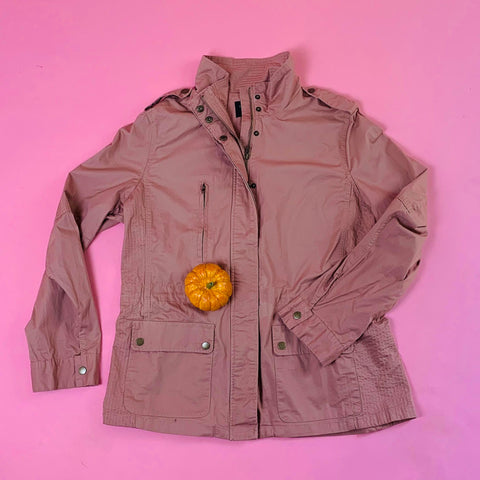 l29006jcx mauve love tree plus size utility jacket