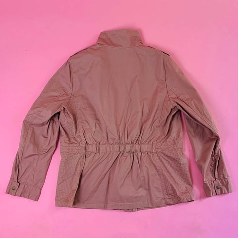 """Pink Love"" Utility Jacket (Plus)"