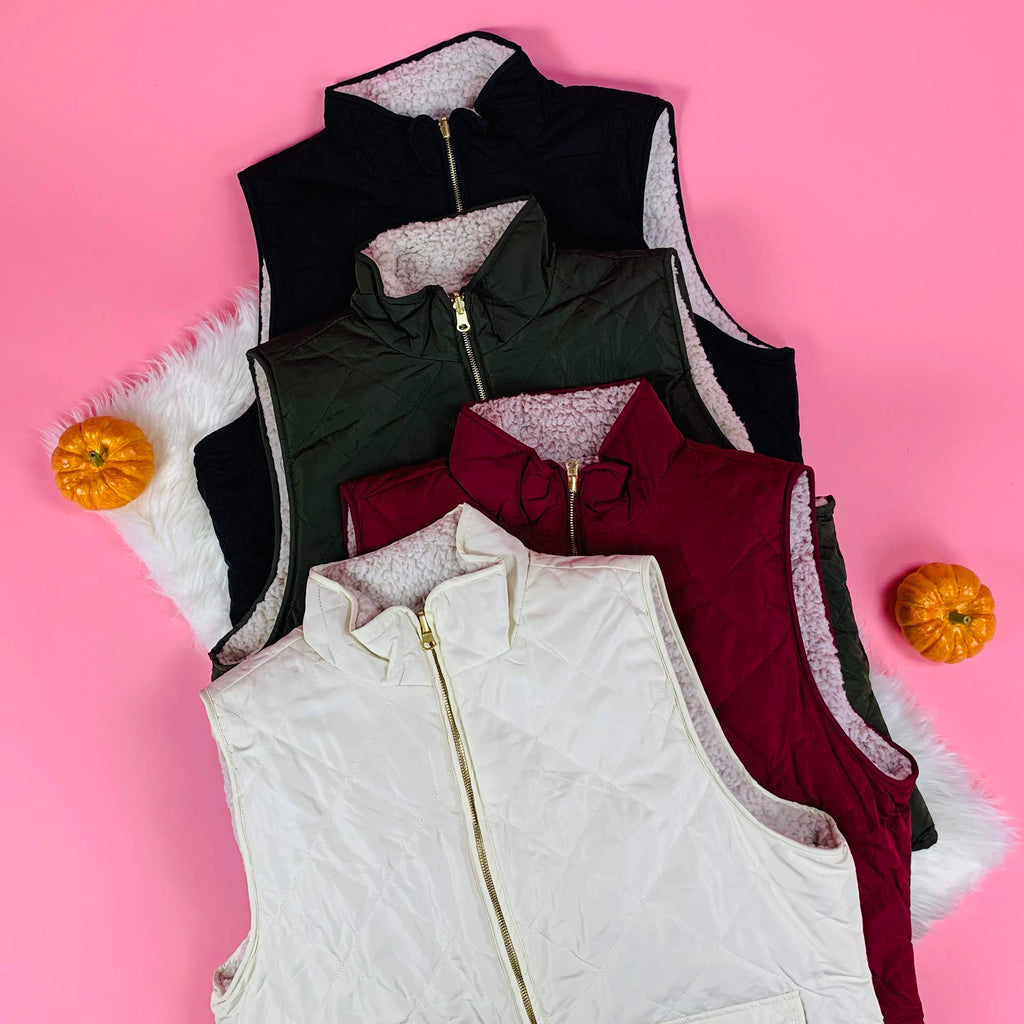 women reversible plus size vest love tree