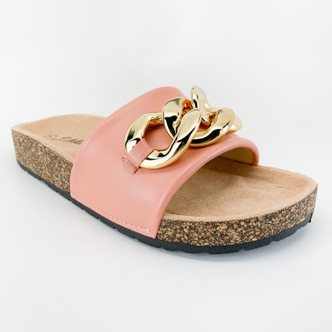 j.mark urban-34 blush sandal with chain
