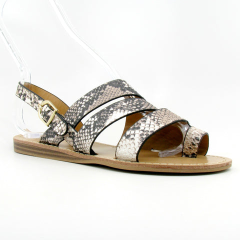 """Autumn"" Slide Sandal (Snake)"