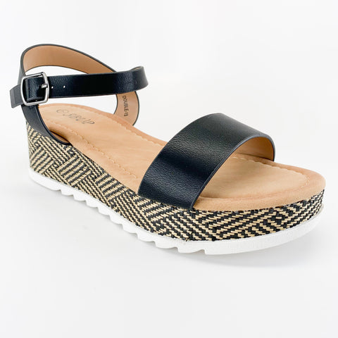 """Bay"" Wedge Sandal"