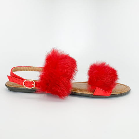 """Fuzzy Mornings"" Sandal"