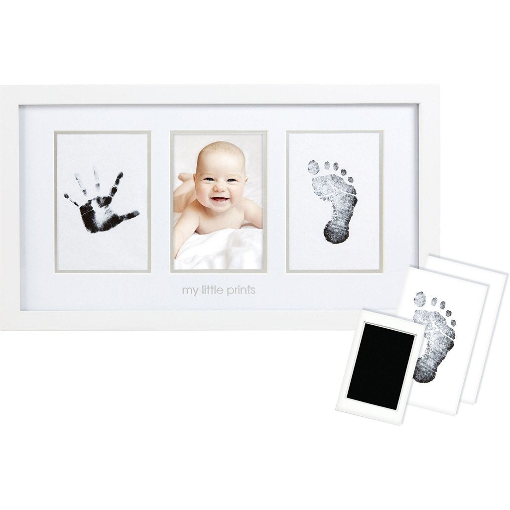 Babyprints Photo Frame - WHITE (Pearhead)