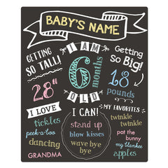 All About Baby Chalkboard (Pearhead)