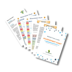 Achievement Chart for Bedwetting Alarm (downloadable version)
