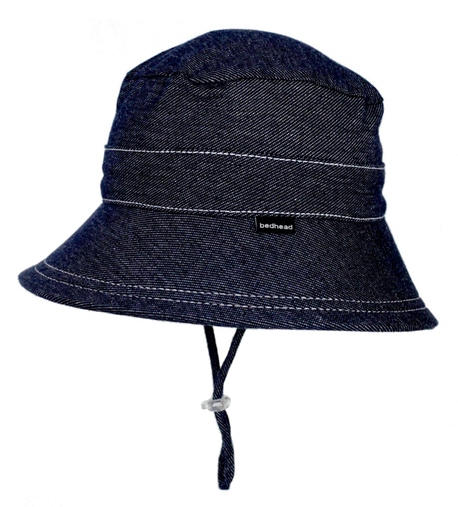 Bedhead Kids Bucket Hat (2-6 yrs) - Denim