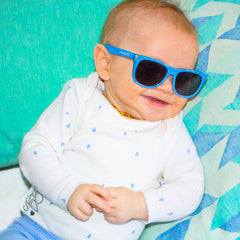 Eyetribe Frankie Ray - Baby Sunglasses Blue Denim (0-18mths)