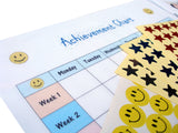 Achievement Chart for Bedwetting Alarm