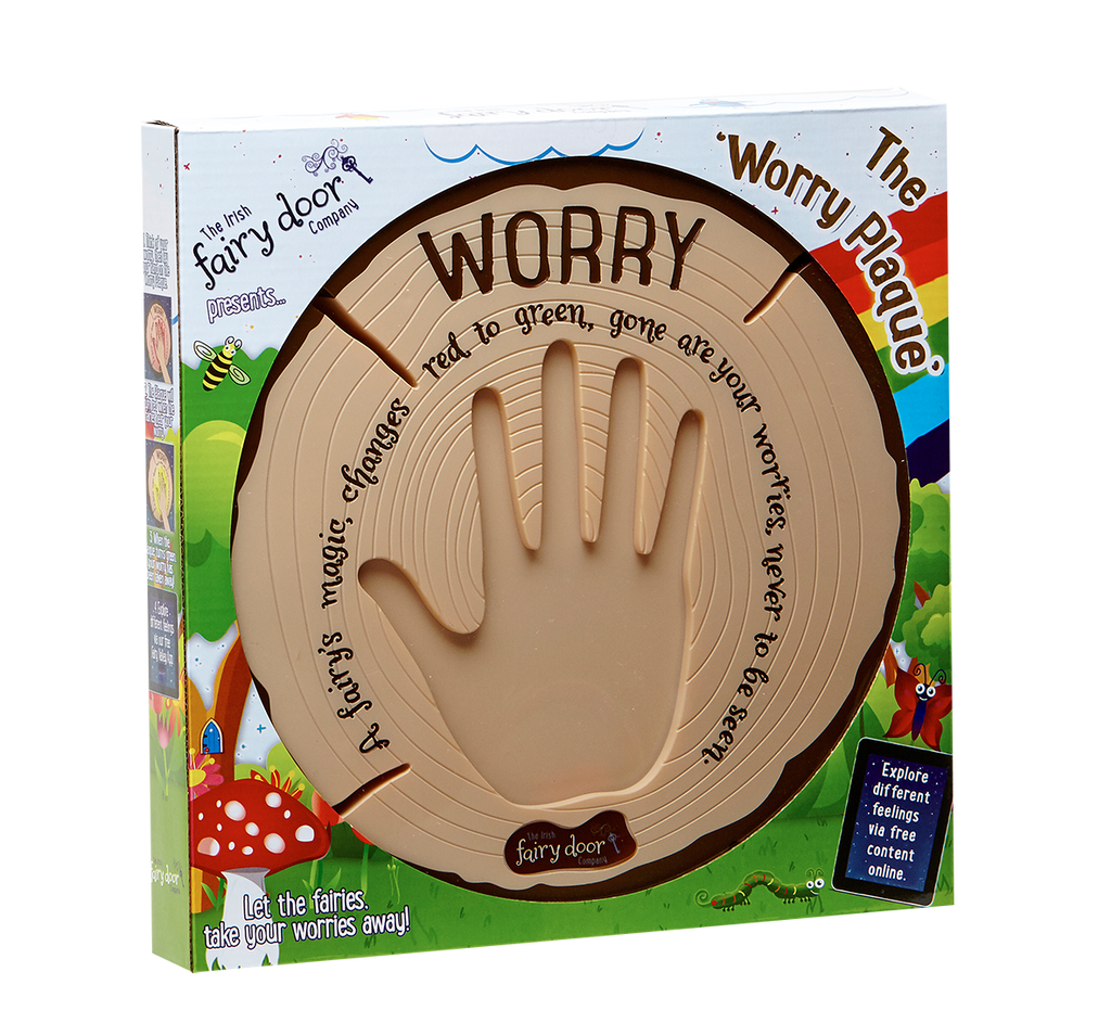 Interactive Worry Plaque (The Irish Fairy Door Company)