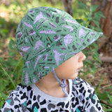 Bedhead Toddler Bucket Hat (6 mths -2 yrs) - Dinosaur