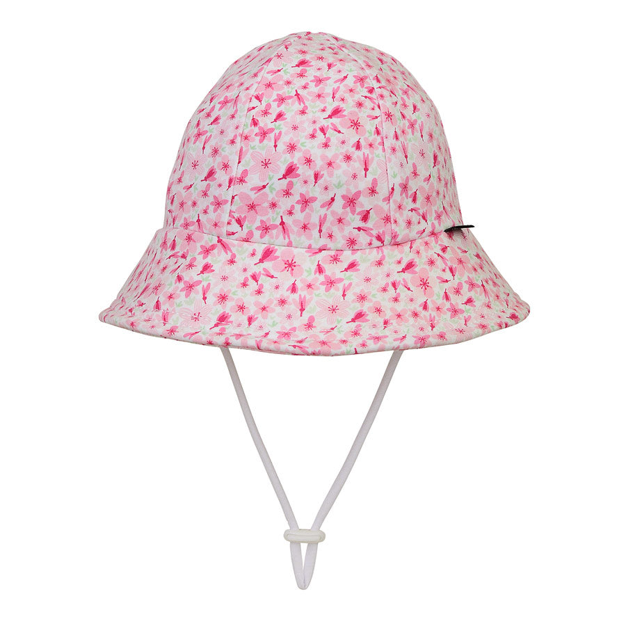 Bedhead Girls Toddler Bucket Hat (6 mths -2 yrs) - Cherry Blossom