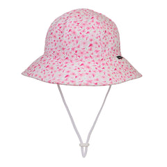 Bedhead Girls Bucket Hat (2-6 yrs) - Cherry Blossom
