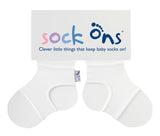 Sock Ons - Keeps Baby Socks On! (6-12 Months)