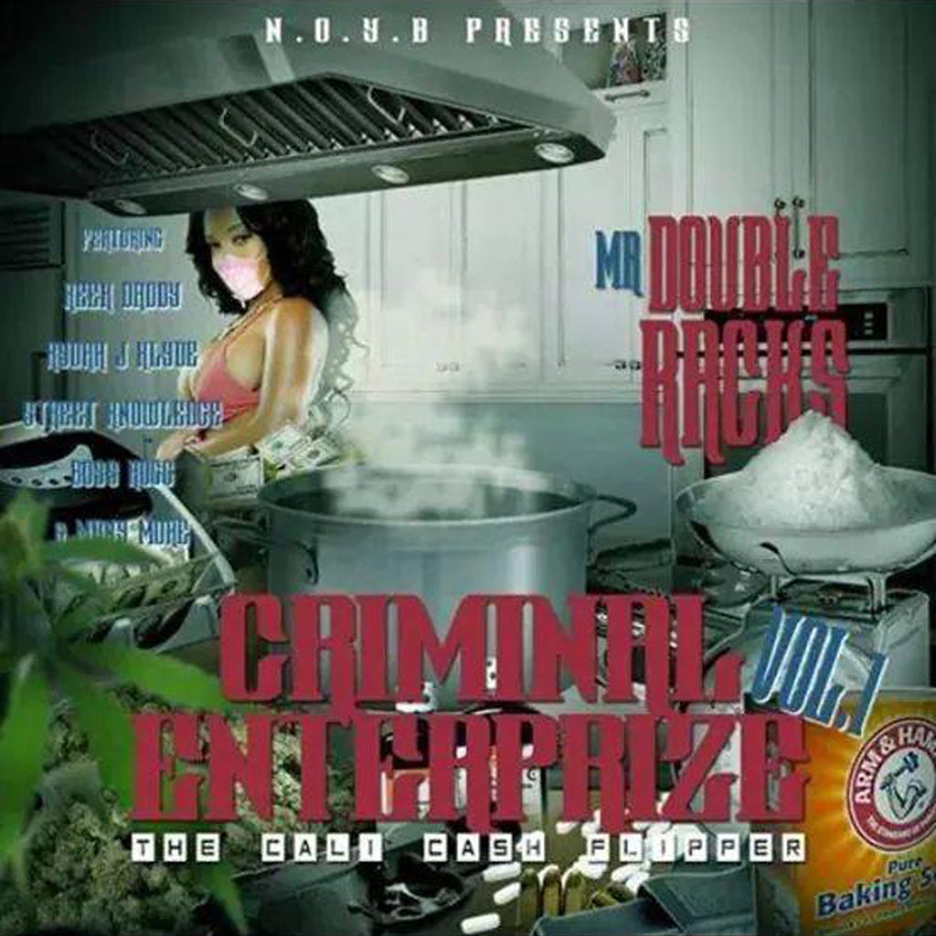 "Double Racks ""Criminal Enterprize Vol. 1"" CD"