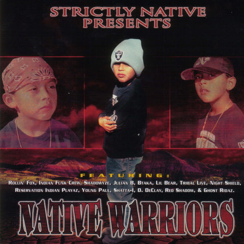 Native Warriors - Volume 1 - CD
